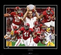 Alabama Football 2011 BCS National Championship The Shutout L E Gamble