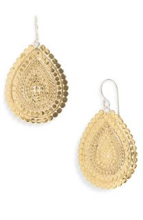 Anna Beck Flores Chain Drop Earrings