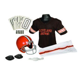 Cleveland Browns Youth Helmet Jersey Uniform Set