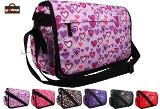 Mens Girls Boys College School Messenger Shoulder Bag