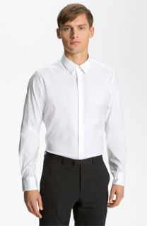 Jil Sander Lava Stretch Cotton Dress Shirt