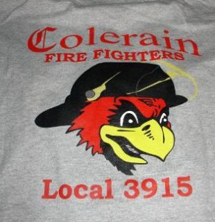 Colerain Fire Fighters IAFF AFL CIO Local 3915 Extra Large Tee Shirt