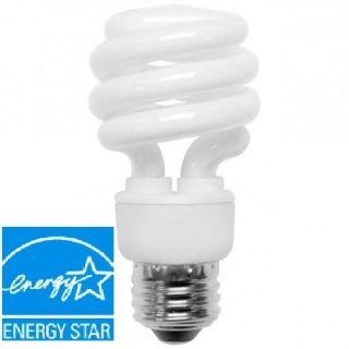 13 Watt 60 w Compact Fluorescent Light Bulb 2700K CFL