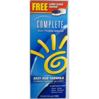 Complete Multi Purpose Solution Easy Rub Formula 12 Fl Oz (Pack of 6)