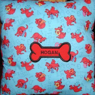 Clifford the Big Red Dog Personalized Pillow