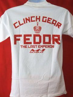 Fedor Emelianenko Clinch Gear Strikeforce White T Shirt