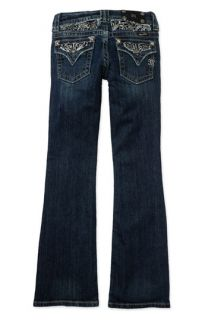 Miss Me Embellished Bootcut Stretch Jeans (Big Girls)