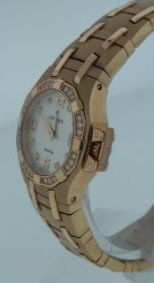 Concord Saratoga New 18K Pink Gold Diamond Ladies Watch