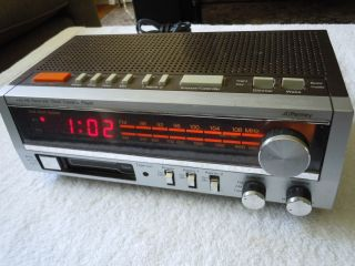JC Penney Am FM Clock Radio Cassette Player