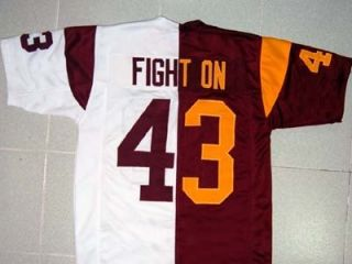 USC Trojans College Football Jersey Fight on Home Away New Any Size