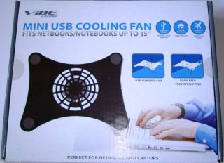Mini USB Note Book Laptop Computer Cooling Fan Up to 15 F Apple