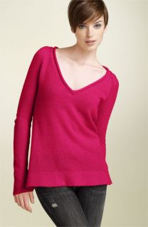 James Perse V Neck Cashmere Sweater
