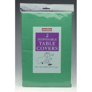 New Green Paper Disposable Table Cloths Party Ware