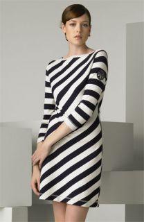 Tory Burch Noisetta Diagonal Stripe Dress