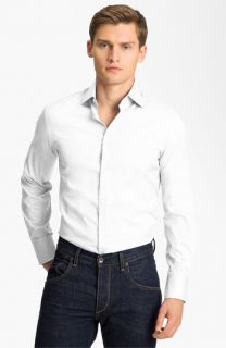 Dsquared2 Dean Dan Stretch Cotton Dress Shirt