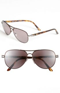 Persol Metal Aviator Sunglasses