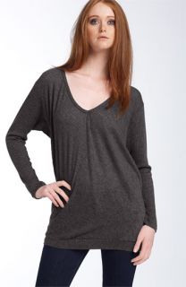 James Perse V Neck Knit Top
