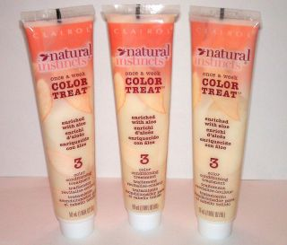 Clairol Natural Instincts Color Treat #3 Conditioner Conditioning