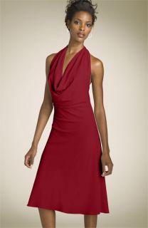 Calvin Klein Cowl Neck Knit Dress