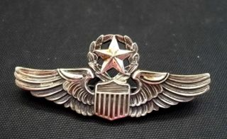 World War Two American Air Force Command Pilot Wings WWII AAF Z33