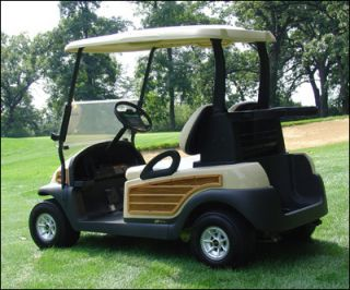 Woody Kit for Precedent Club Car Golf Cart 4 Piece Set