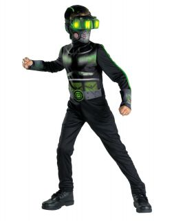 Rapid Strike Special Ops Recon Missions Stealth Commando Child Costume