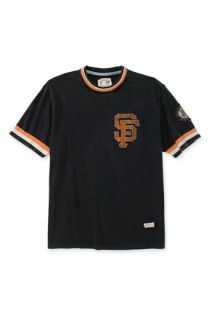 Red Jacket San Francisco Giants Trim Fit Crewneck Ringer T Shirt (Men)
