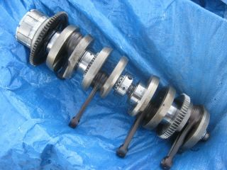 KZ1000 Crankshaft Kztood Crank Shaft Engine Connecting Rods 78