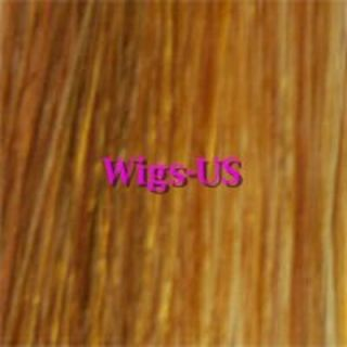 Extra Long Full Skin Top Wig Blonde Red Brown Colors US Seller