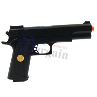 Double Eagle P169 Colt M1911 .45 Cal Pistol Spring Power Airsoft Gun