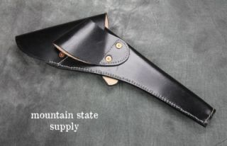 Left Hand Colt 1860 Army Black Leather U.S. Civil War Revolver