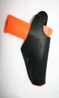 Colt 45 1911 Browning Hi Power Auto Pistol Leather Belt Loop Gun