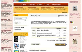 Established Kids Toy Baby Toys Website for Sale Internet Marketing