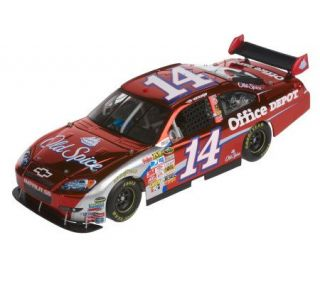 Tony Stewart 2009 #14 Old Spice Color Chrome 124 Scale Car —