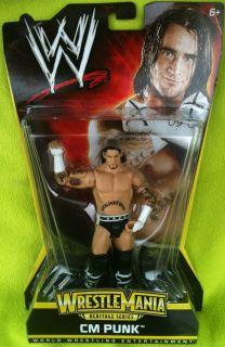 Cm Punk WWE Figure Mattel Wrestlemania Heritage Series