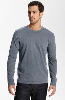 James Perse Long Sleeve Crewneck T Shirt