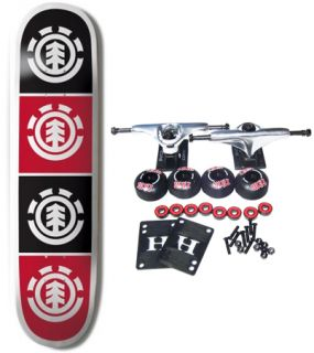 Element Skateboards Complete Skateboard Team Quadrant