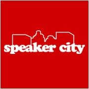 Speaker City Funny Comedy T Shirt SM XLG