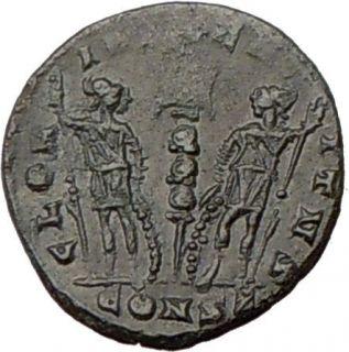 Constantine I dGreat 337AD Authentic Ancient ROME COMMEMORATIVE Roman