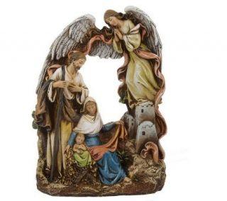 Holy Family Nativity Scene Figurine by Roman —