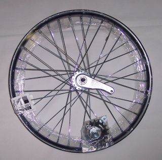 New Steel Black 20 x 1 75 BMX Bike Wheel Rear Coaster Brake