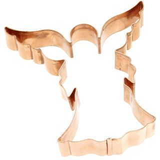 Old River Road Angel Shaped Cookie Cutter Biscuit Mold Jello Copper