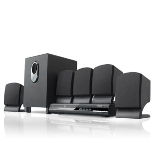 Coby Electronics 5 1 Channel Surround Sound Home Theater System with