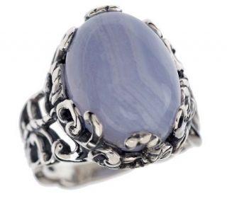 Carolyn Pollack Sterling Half Moon Bay Ring —