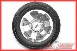 F150 RARE ALCOA FORGED FX4 POLISHED OEM WHEELS +NEW COOPER TIRES 18 22