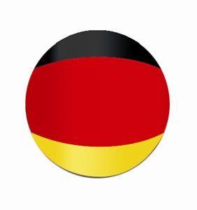 1980 2013 FORD CARS & TRUCKS VALVE STEM CAPS SET OF 4 GERMAN FLAG