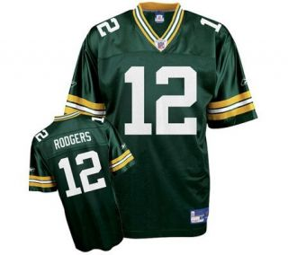 NFL Packers Aaron Rodgers Replica Team Color Jersey (3XL 5XL)