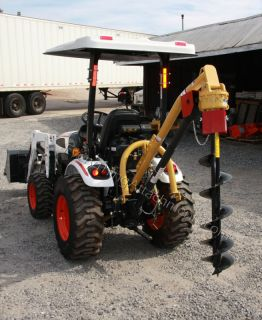 Everything Attachments Compact Tractor Post Hole Digger