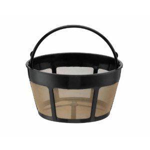 Cuisinart Permanent Goldtone Coffee Filter Basket Shaped GTF B for DGB