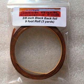 Solder Art Black Back 3 8 Copper Foil Tape 9 Feet